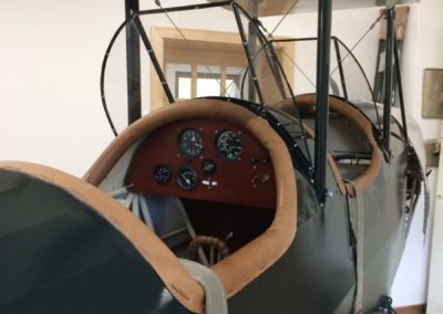 Cockpit of Pietenpol Aircamper