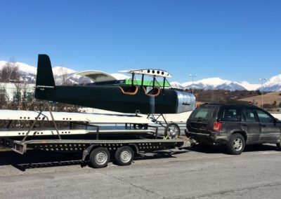Pietenpol on the way to Slovakia