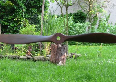 SPAD 7 propeller 233cm, maple, brown stain + patina