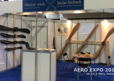 Our wooden propellers at Aero Expo