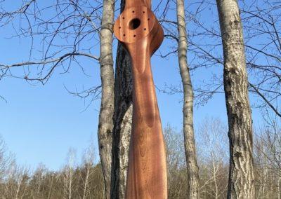 Sopwith Camel 250cm, mahogany, teak oil