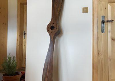 Sopwith Camel propeller 200cm, european walnut, teak oil